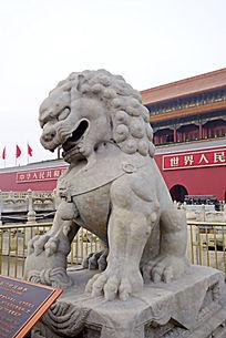 天安门城楼石狮