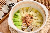 翅汤什锦砂锅