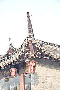 古建筑飞檐角