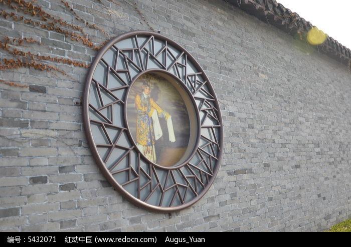 圆形中式窗花图片
