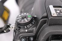 单反相机按钮特写