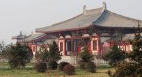 典雅唐朝建筑