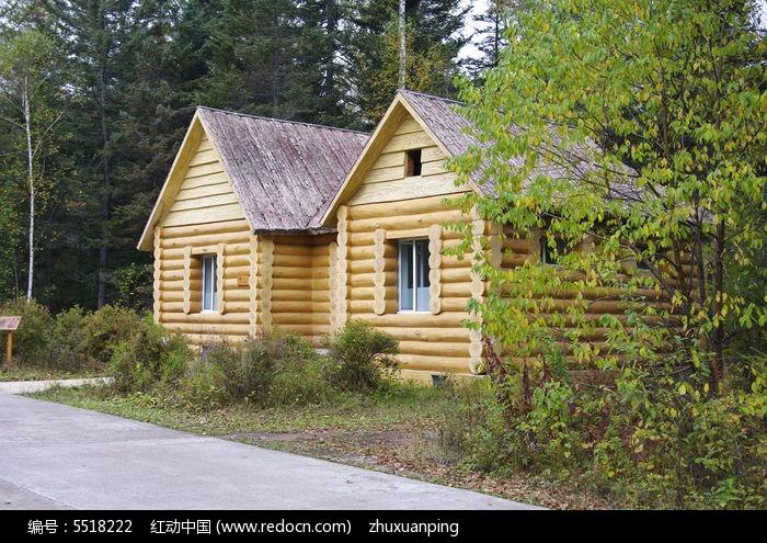 公园里的小木屋图片,高清大图图片
