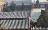 文庙灰瓦建筑