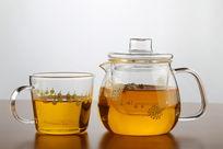 玻璃茶壶茶杯