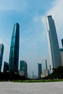 广州东塔周大福中心广州西塔IFC