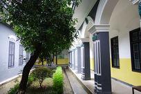 湖南一师校园与教室的建筑格局