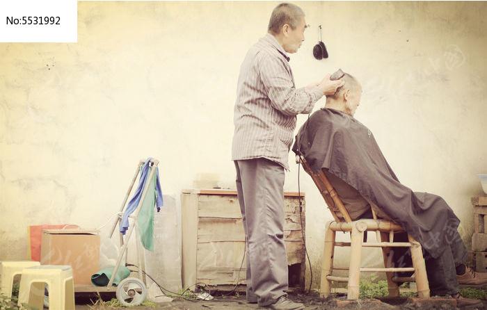街头理发师高清图片下载 编号5531992 红动网