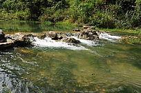 小七孔景区水景