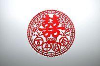 中国婚庆剪纸贴花