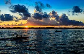海上的日出