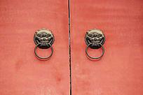 红漆门扣环