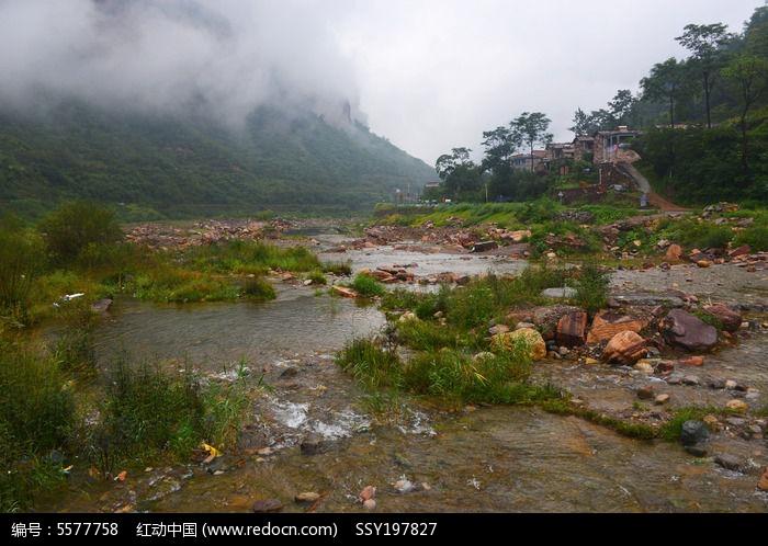 河南林州石板岩乡露 水河边风景高清图片下载 编号5577758 红动网图片