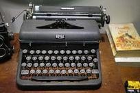 老式键盘按键打字机