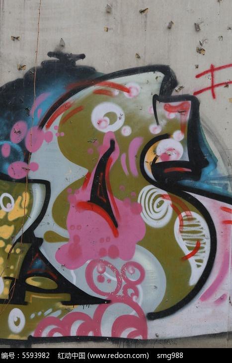 北京798创意字母涂鸦墙图片