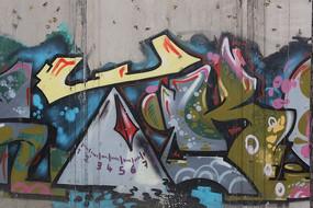北京798的创意涂鸦墙