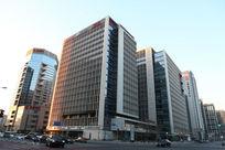 北京金融街上海银行大厦外景