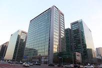北京金融街中国人寿保险公司大楼外景