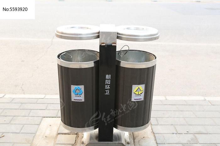 类的公共垃圾桶