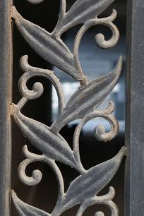 铁艺树叶花纹图案素材