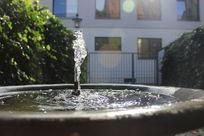 奥格斯堡莫扎特故居喷泉