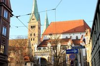 奥格斯堡南教堂近景