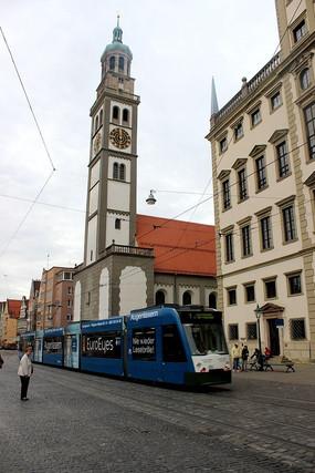 奥格斯堡市政厅钟楼