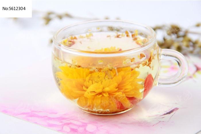 枸杞桂花茶