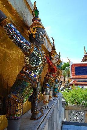 泰国雕塑组