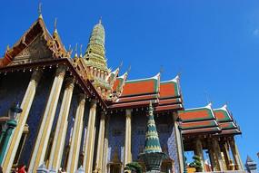 泰皇宫庙宇建筑