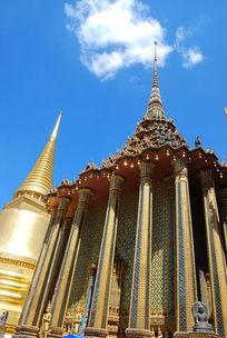 泰式建筑柱子
