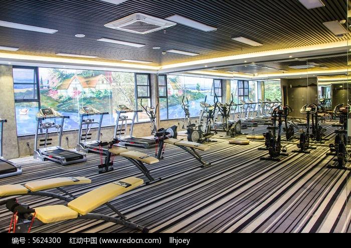 健身房图片,高清大图_休闲场所素材