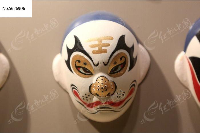 京剧脸谱猴王雕像
