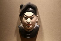 京剧脸谱小生雕像