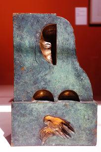 青铜雕塑《蒙娜丽莎》