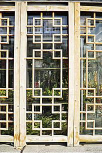 仿古木制工艺窗