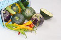 航天蔬菜航天南瓜茄子图