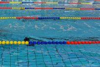 室内游泳池泳道