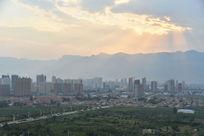 中国红旗渠故乡林州市景