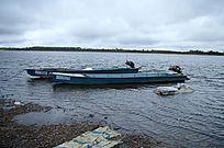 江上渔舟渔船