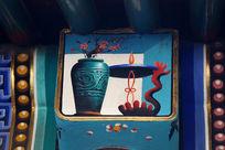 古代花瓶边框图案
