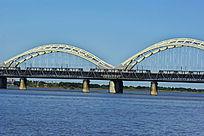 跨江大桥桥梁