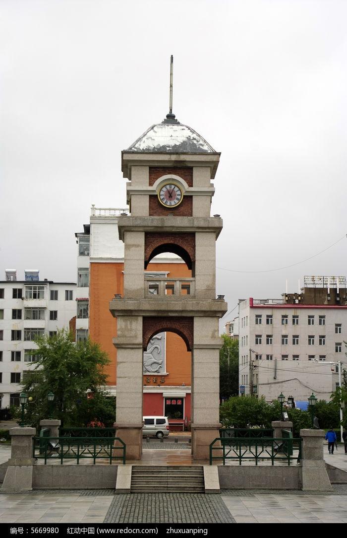 欧式钟楼图片