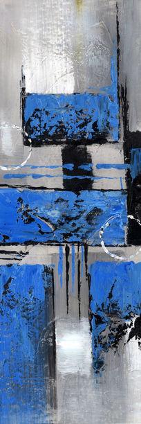 玄关抽象艺术油画