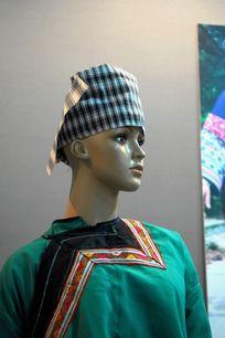 彝族女包头巾
