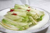 炝拌生菜梗