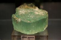 巴西蓝海宝石方料标本