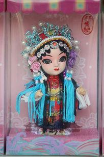 穿古代服饰杨贵妃人物饰品