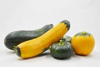 近拍航天蔬菜航天南瓜特写图片