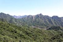 慕田峪长城风景区摄影图片